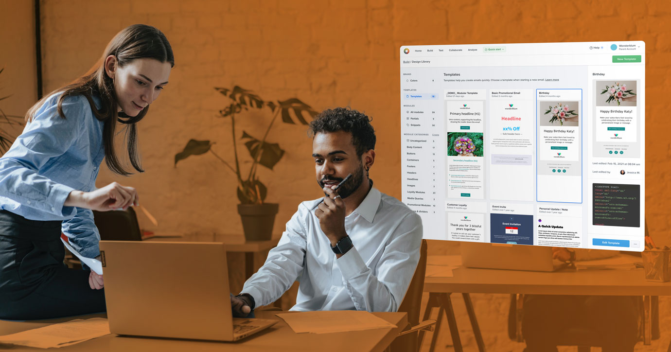 Litmus Builder email templates