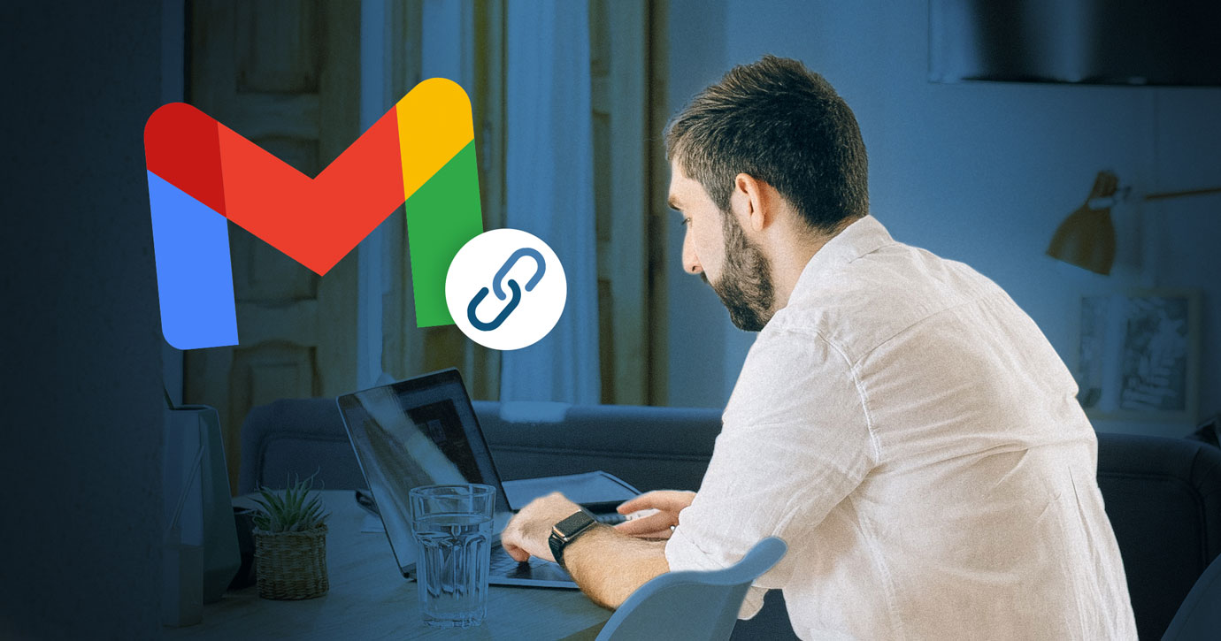 How to fix Gmail blue links