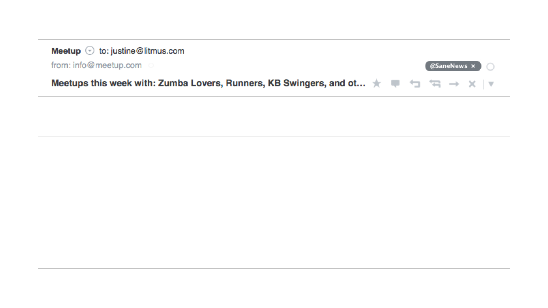 email example of blank plain text