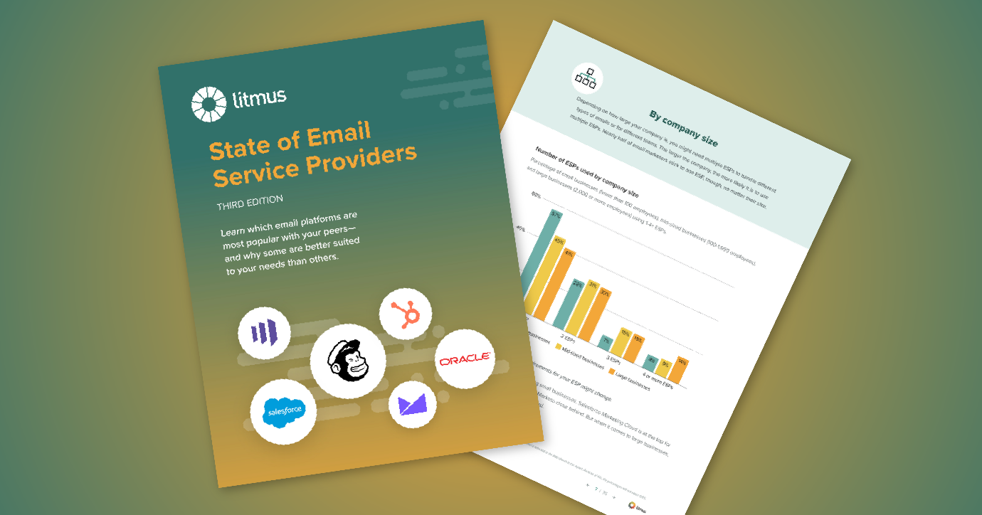 State of Email Service Providers report from Litmus