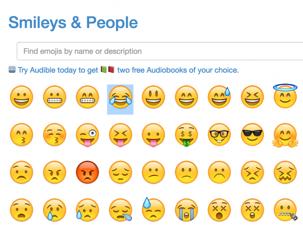 get emoji - searchable emoji collection