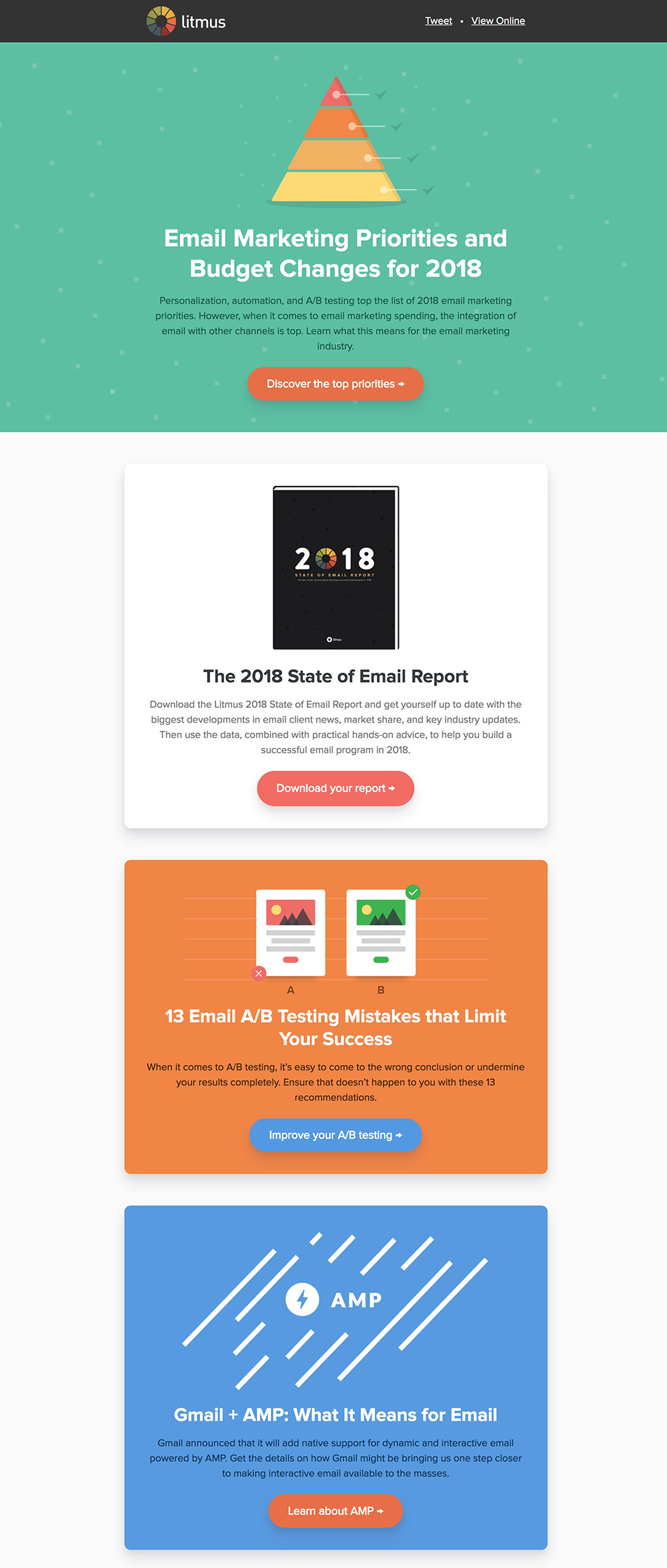 Background Colors In Email - Litmus Newsletter