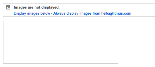 Disabled image without alt text in Gmail