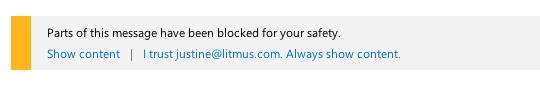 Blocked Content in Outlook.com