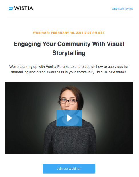 Wistia Using Video and Email Together