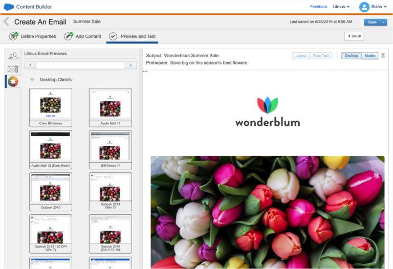 Litmus Extension in Salesforce Marketing Cloud