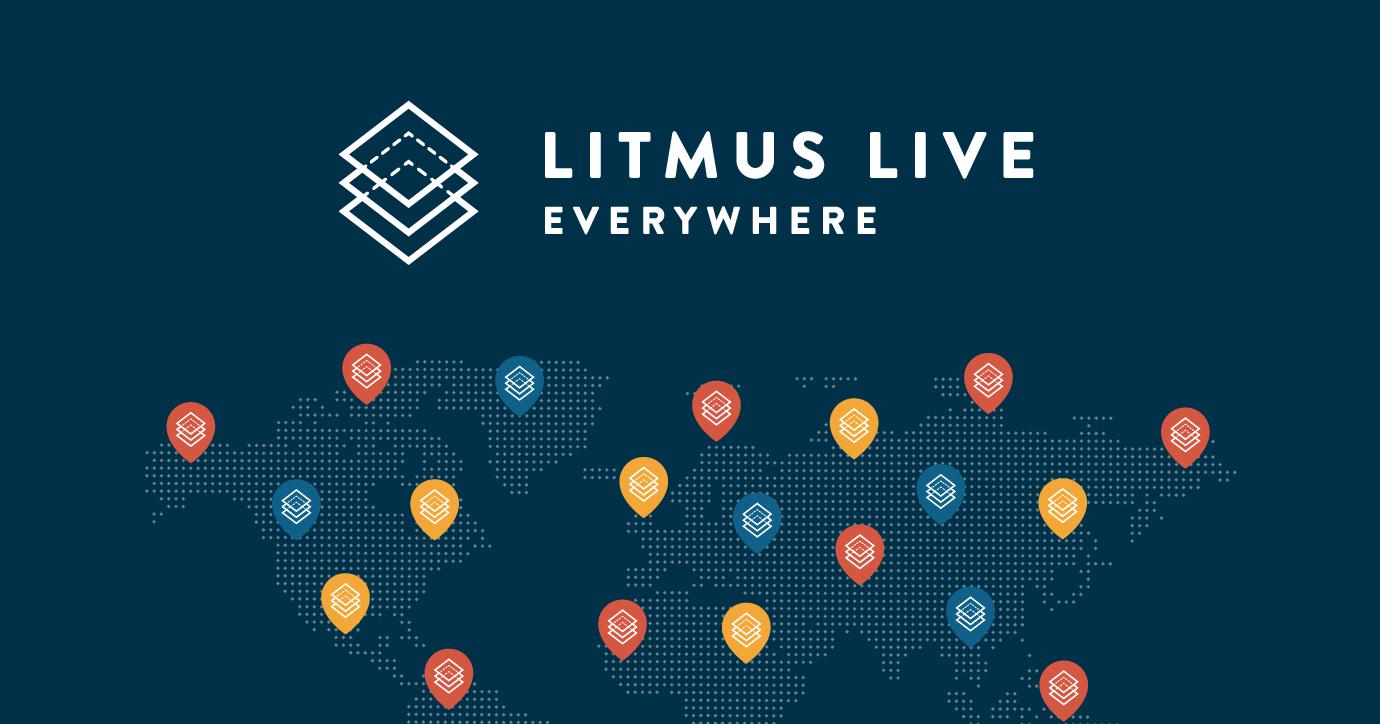 Litmus Live Everywhere October