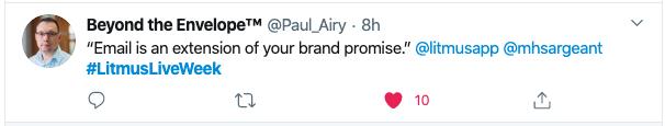 L'e-mail est une extension de la promesse de votre marque