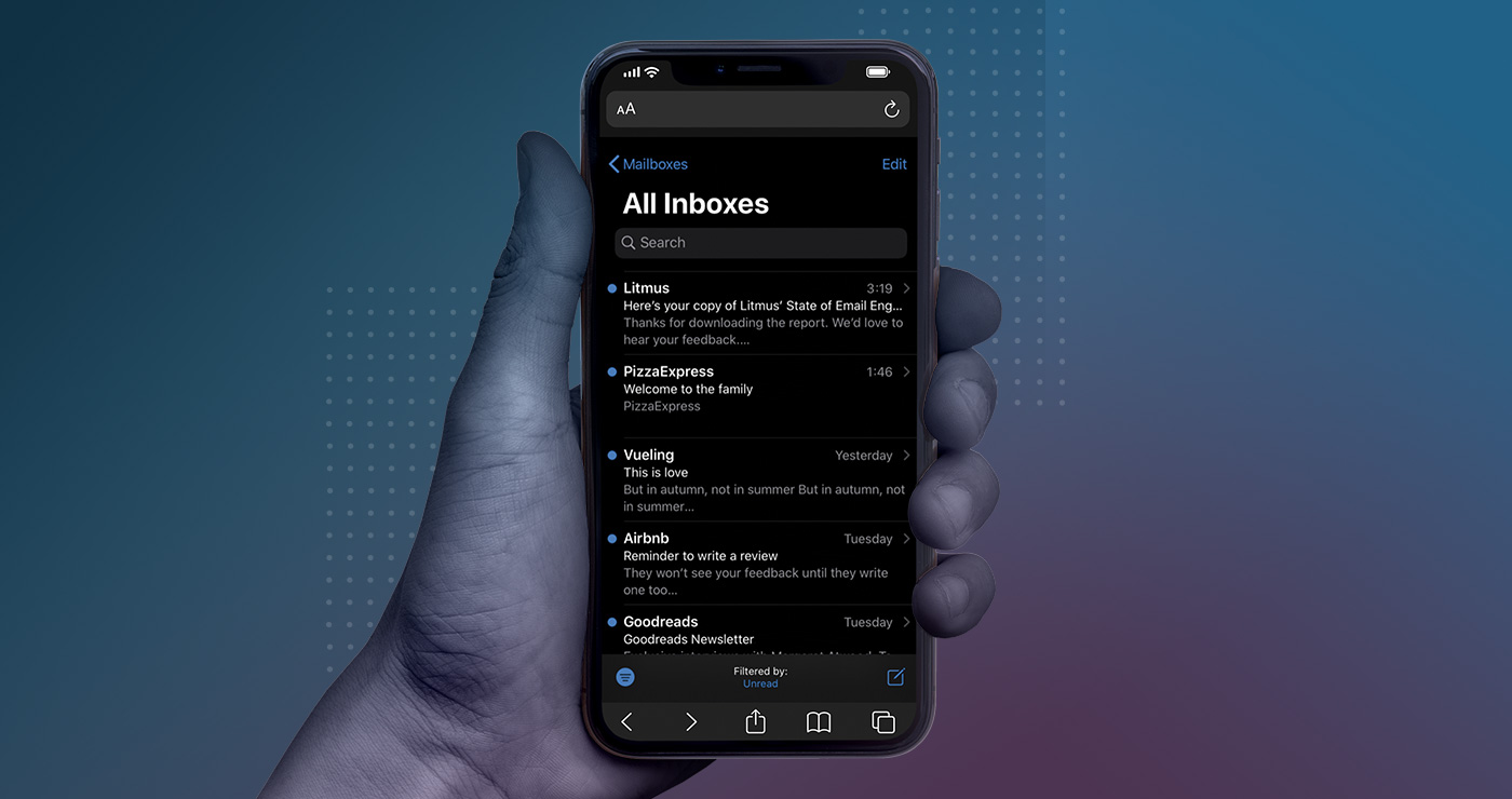 litmus dark mode email guide