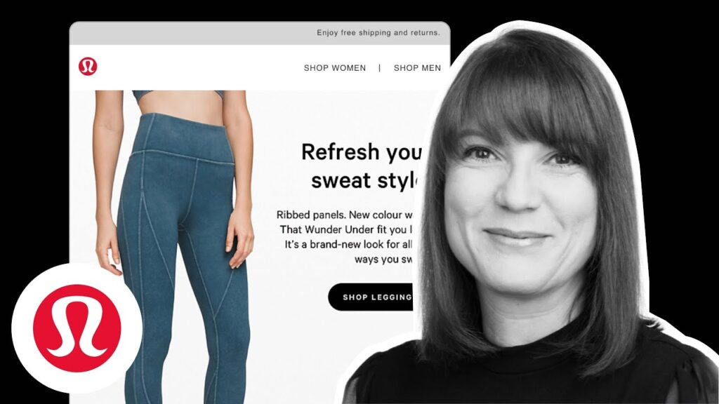 Really Good Emails Feedback Friday with Annett Forcier on Lululemon