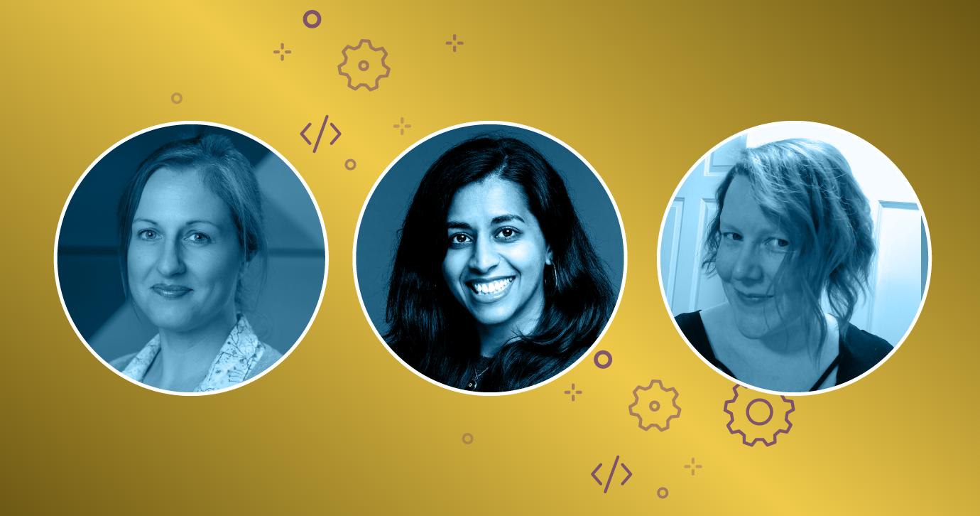 Litmus email team: Lily Worth, Jaina Mistry, Carin Slater