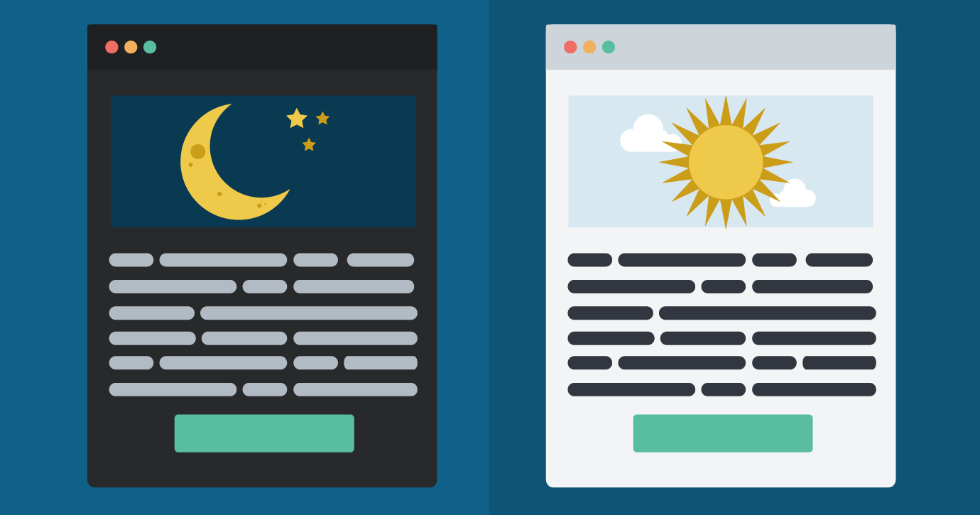 Should your emails always be dark?