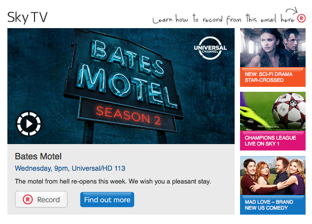 Sky TV Email