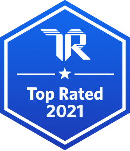 TrustRadius Top Rated 2021 Badge