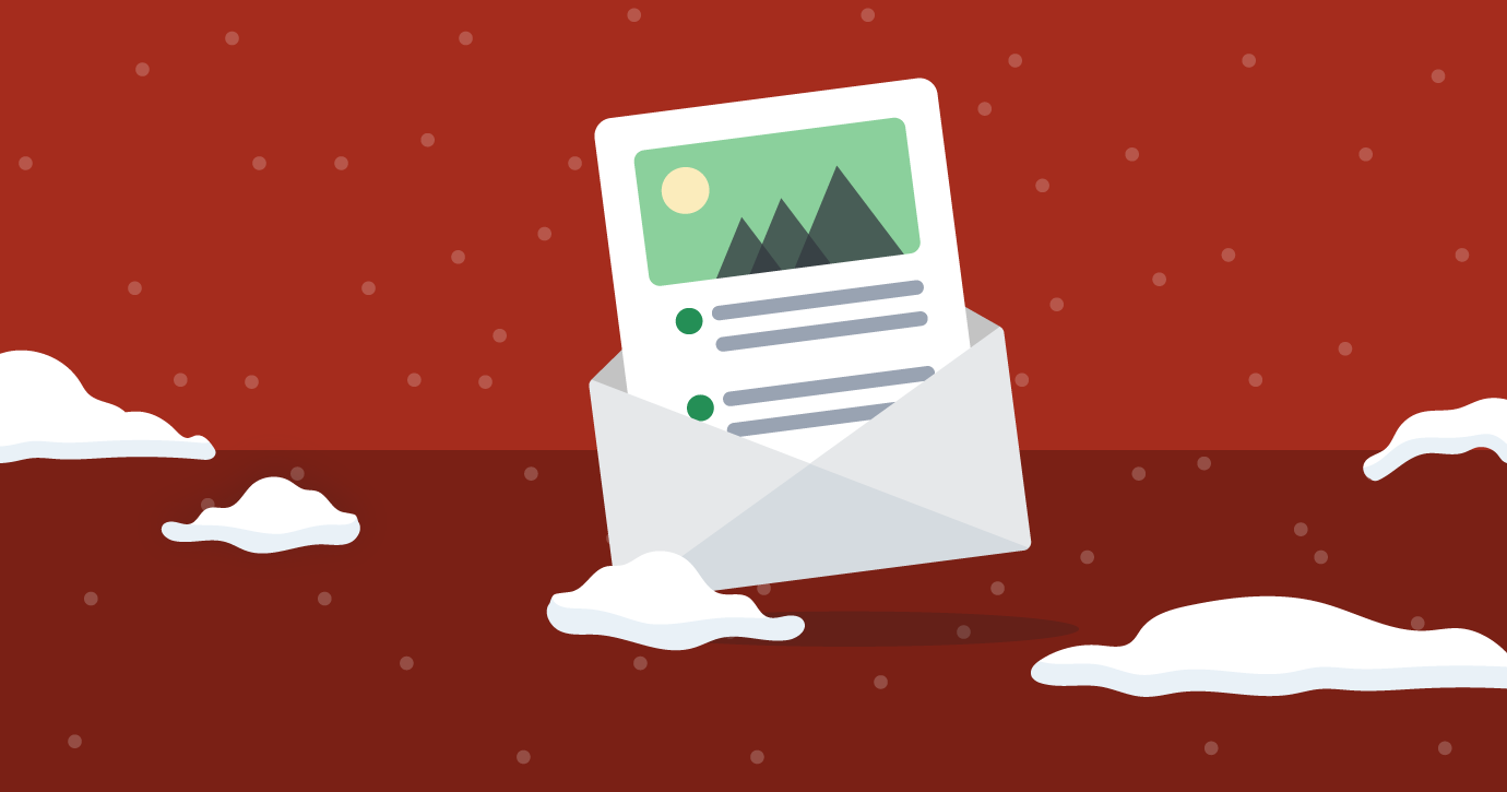 holiday email planning